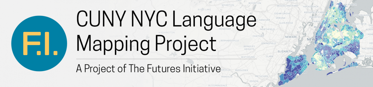 CUNY NYC Language Mapping Project