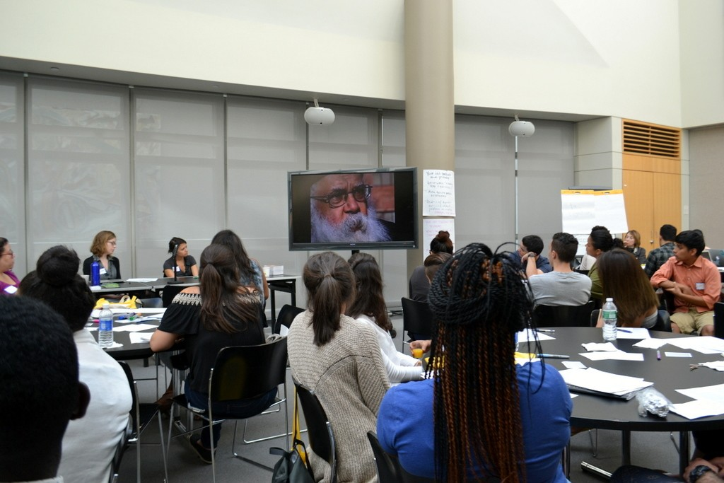 "Mentors watch a short excerpt of ""The PolyMath,"" about Samuel Delany, and discuss the dynamics of the classroom"