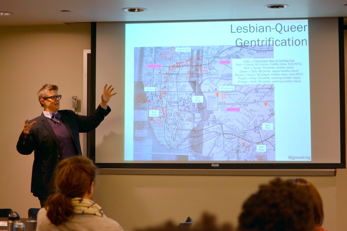 Jen Jack Gieseking, Queering the Map