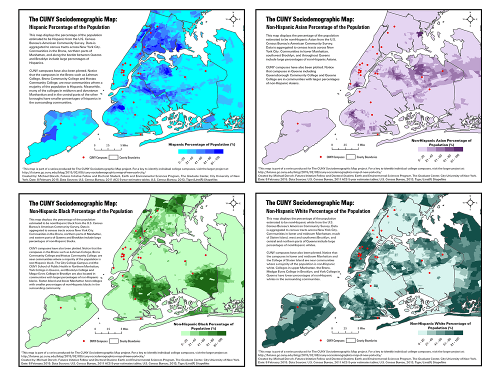 CUNY Sociodemographics Map of New York City: Part I – Race and Ethnicity