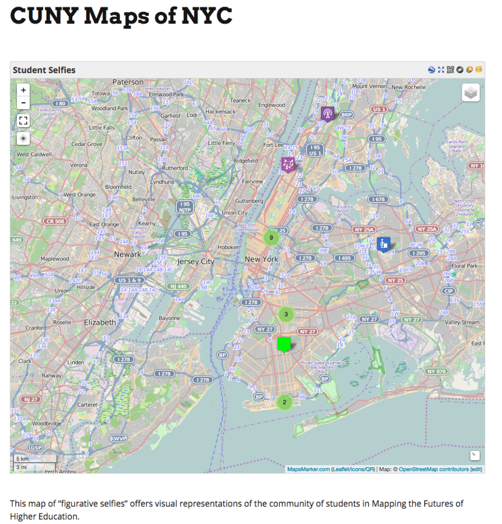 """Why Do Research? Or, Why """"The CUNY Map of NYC"""" Matters #FuturesEd"""