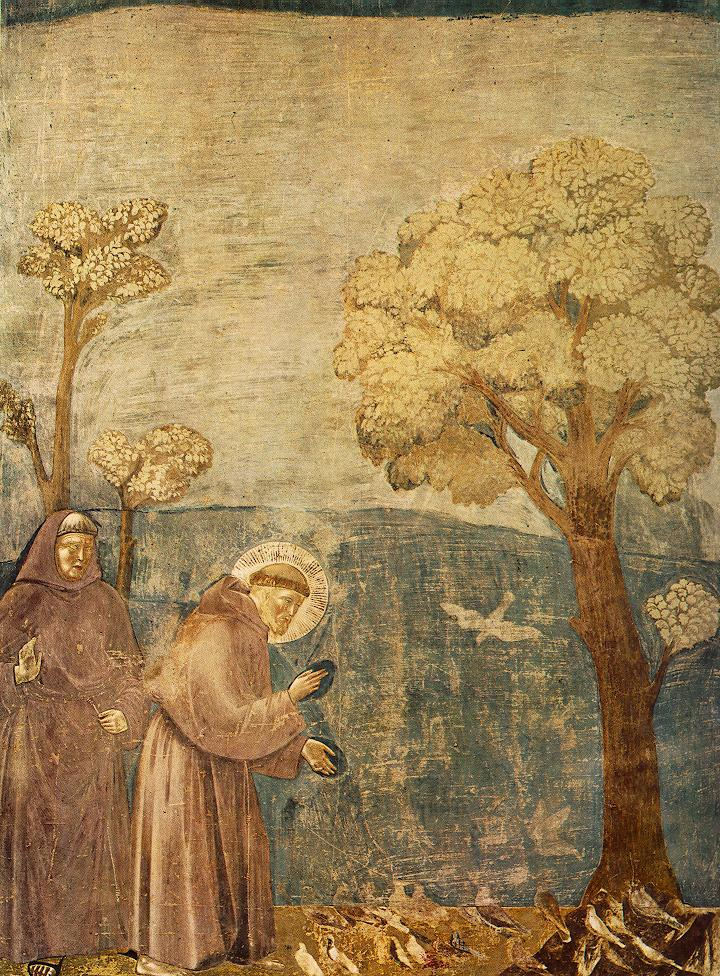 Legend of St Francis, Sermon to the Birds