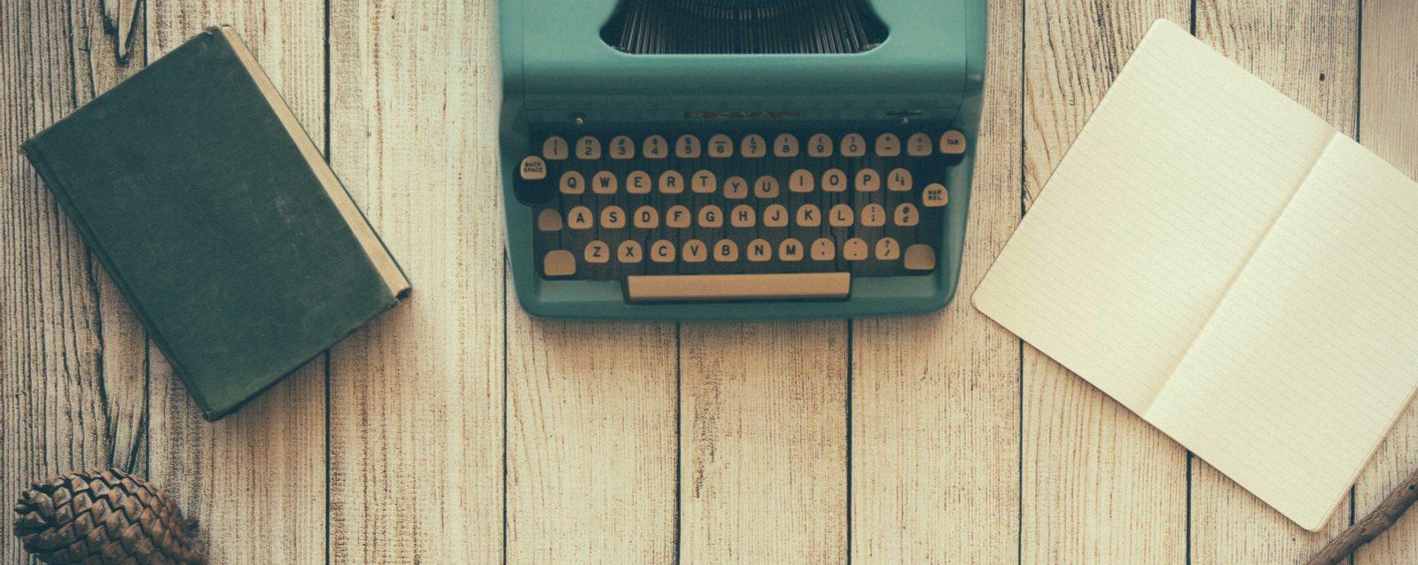 Typewriter - Academic CV Workshop