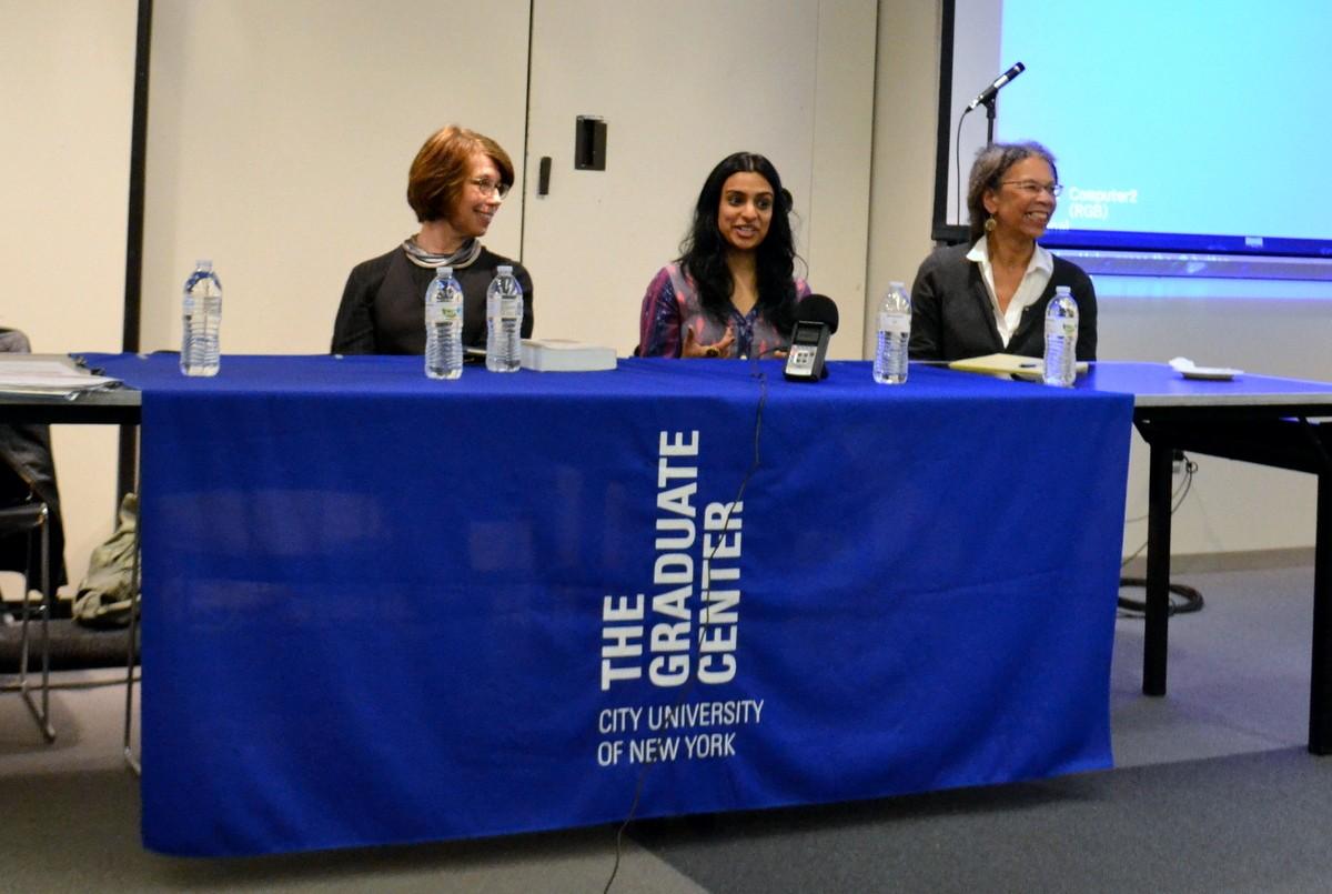 Anne Balsalmo, Prithi Kanakamedala, Ruth Wilson Gilmore