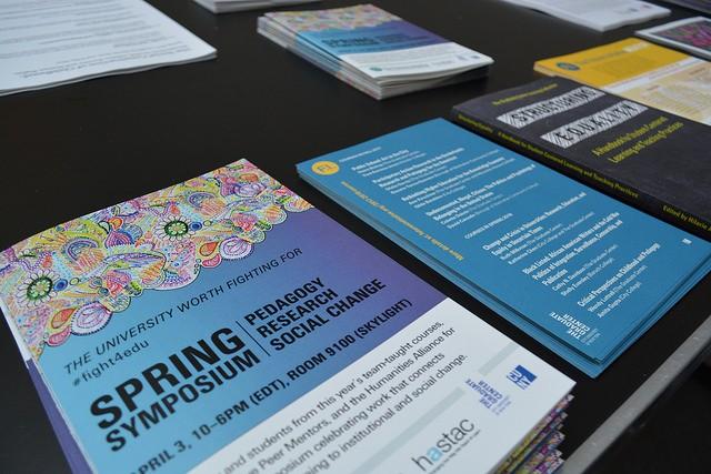 Spring symposium announcement & flyers