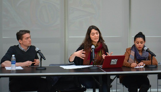 Students speak about education as a public good