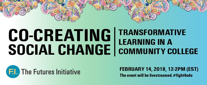 Co-Creating Social Change: Transformative Learning in a Community College