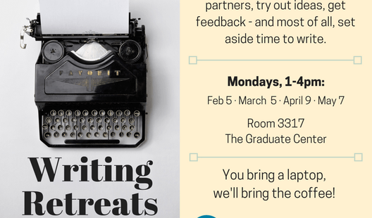 Announcing Writing Retreats at the Graduate Center