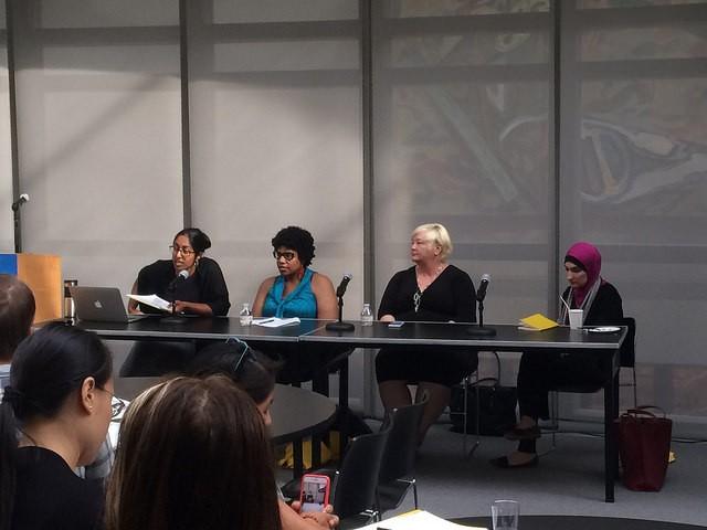 Kitana Ananda and fellow panelists