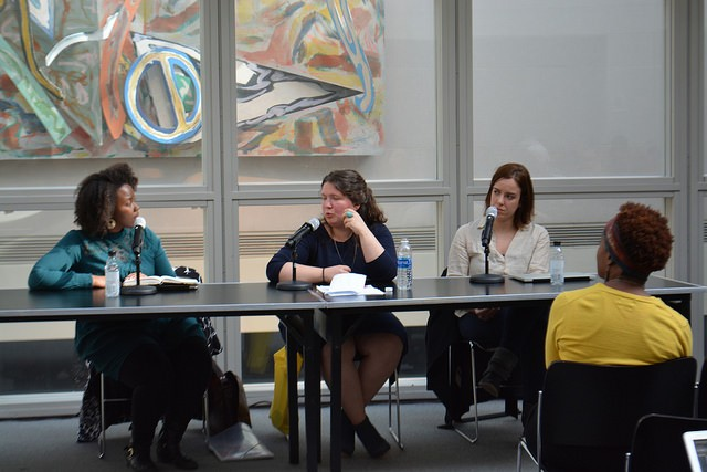 Allison Guess and panelists