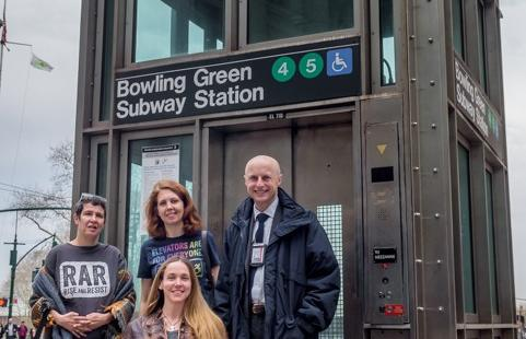 Our ride with Andy Byford, NYCT President
