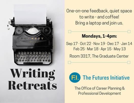 Poster for Writing Retreats