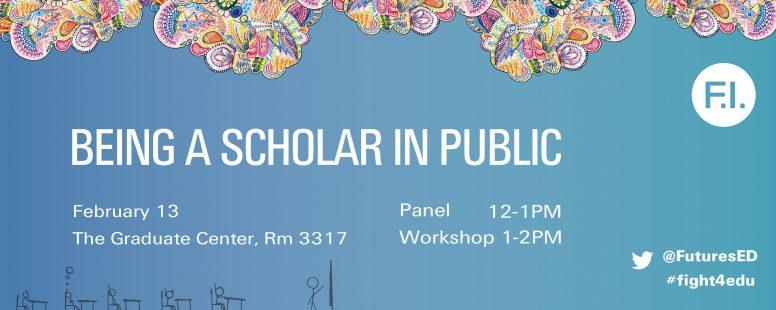 Being a Scholar in Public